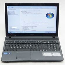 "ACER ASPIRE 5349 ZRL 15.6"" LAPTOP INTEL CELERON B815 1.6GHZ 300GB 2GB WIN 7"