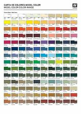Pick any 10 Vallejo Model Color Paints or Mediums