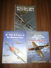 German Night Fighter Aces of World War 2 Vol. 20, 29 & 31 Lot of 3 books **Look*