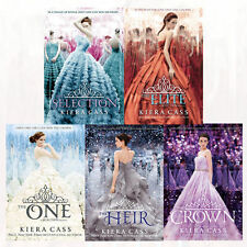 The Selection Series Collection Kiera Cass 5 Books Box Set Elite Heir Crown One