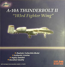 Witty Wings 1:144 A-10A Thunderbolt 103 Fighter Wing Diecast Plane WTW-144-09001