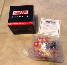Simpson Nascar Signature Edition Mini Helmet John Paul Jr NEW in box w/ COA