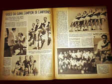 SOCCER VASCO DA GAMA SUPERCUP CHAMPION 1948 - Original El Grafico magazine