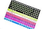 Color Keyboard Cover Skin Protector for 15.6
