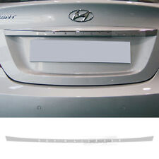 Trunk Garnish Decal Wraping Stickers Silver For HYUNDAI 2011 - 2016 Accent Verna