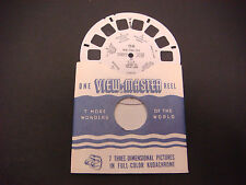 Sawyer's Viewmaster Reel,1952,New York City III,USA,Library,Cloisters,Harbor 158