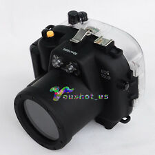 Meikon 50M 160ft Waterproof Underwater Housing Case For Canon EOS 550D Camera