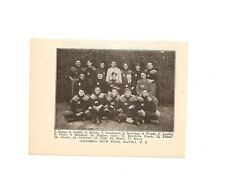 Columbia Club Manila P.I. 1907 Football Team Picture