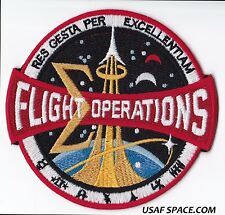 NASA - FLIGHT OPERATIONS - AB Emblem ORIGINAL - SPACE PATCH - MADE in USA - MINT
