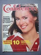 ►CONFIDENCES N°1593-1978 - ROMAN COMPLET - FERNAND RAYNAUD