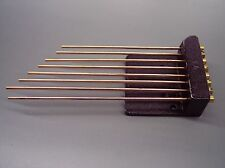 NEW TRIPLE CHIME CLOCK CHIME RODS WITH BLOCK - movement service repair parts