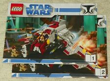 (Instructions) for LEGO 8019 - Republic Attack Shuttle - INSTRUCTION MANUAL ONLY