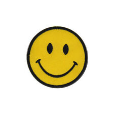 Smiley Face Retro Acid House Badge Embroidered Patch 7.5cm