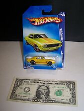 Hot Wheels Yellow '69 Chevy Camaro - Muscle Mania #77- 2009 - Rare