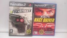 NEED FOR SPEED PRO + TOCA RACE DRIVER SONY PLAYSTATION PS2 PAL.ENVIOS COMBINADOS