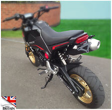 Honda MSX125 GROM Fender  Eliminator 2013 2014 2015. Fits OEM and Micro Signals