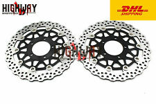 "Front  Brake Disc ""Rotor For KAWASAKI ZX14R ZX 14R 2006-11 ZX10R 2008-2014 DHL"