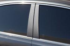Vinyl Decal Door Window Pillar Wrap Kit for Lexus ES350 07-12 Black Carbon Fiber