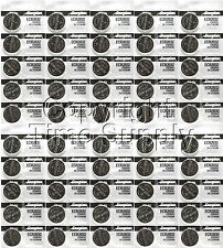 50 pcs 2032 Energizer Watch Batteries CR2032 CR2032 Original LithiumBattery 0%Hg