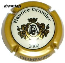 Capsule de Champagne : Extra  !!!  GRUMIER Maurice , n°16 , millésime 2000 !