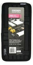 "CPG5BK COCOON 5.125"" x 10"" Grid-It Organizer (Black) for Cellphone,Pen,Charger"