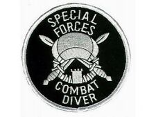 US Army Special Forces Marine Taucher Combat Diver Uniform patch Aufnäher