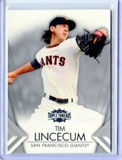 2012 TOPPS TRIPLE THREADS #26 TIM LINCECUM -SAN FRANCISCO GIANTS 09/16/2013  (A)