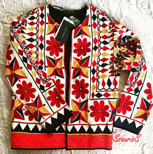 SOLD OUT! ZARA EMBROIDERED EMBELLISHED MIRROR JACKET BLAZER, SIZE S / UK 8-10-12
