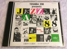 VERY RARE JAZZ 88 TRACK SAMPLE MIX CD BY TOSHIBA EMI (MADE IN JAPAN) 1988