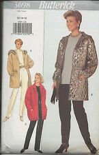 out-of-print: Butterick 3698 Schnittmuster 3 Jacken + 1 Hose, 12-14-16, Gr.38-42