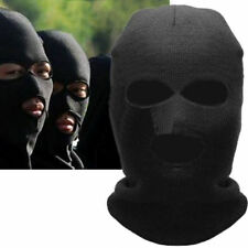 Balaclava Motorcycle Neck Winter Ski Full Face Mask Cover Hat Cap Black GU