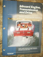 UP TO 1989 SEAHAWK PEUGEOT + INBOARD ENGINE TRANS DRIVE INTERTEC SERVICE MANUAL