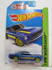 HOT WHEELS 2015 HW WORKSHOP - THEN & NOW  - '65 MUSTANG 2+2 FASTBACK