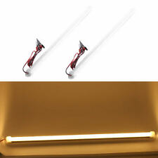 2X 12V Warm white 5630 30LED Car LED SMD Interior Light Bar Tube Strip Lamp Boat