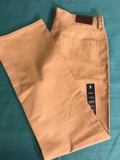 Polo Ralph Lauren 100% Cotton Chino Twill 5 Pocket Straight Fit Pants NWT 36/32L