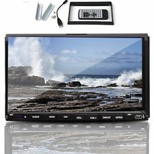"1080P Double 2 Din 7"" Car DVD CD MP3 Player Touch Screen In Dash Stereo Radio"