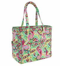 NWT VERA BRADLEY TUTTI FRUTTI  GET CARRIED AWAY TOTE & SMALL COSMETIC - SOLD OUT