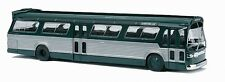 HO 1/87 Busch # 44500 GMC TDH-5301 Fishbowl Bus - Green/Silver