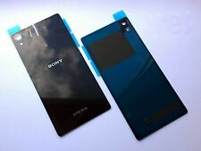 Replacement BLACK Battery Back Glass Cover Panel for Sony Xperia Z2 L50w D6502/3