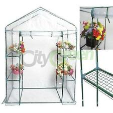 """4 Shelves Walk In Greenhouse Outdoor 3 Tier Portable Green House New 56""""*29""""*77"""""""