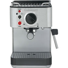 Cuisinart EM-100 1000-Wtt 15-Bar Espresso Maker Stainless Steel- Factory Refurb