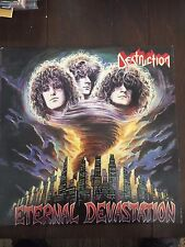 Destruction ‎– Eternal Devastation LP Original Thrash Metal SUPER CLEAN