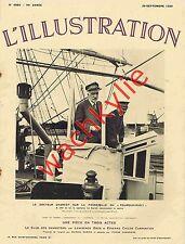 L'illustration n°4882 du 26/09/1936 Charcot Pourquoi pas? Sionisme Espagne Balza
