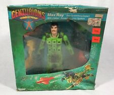 "1986 KENNER CENTURIONS ""MAX RAY"" NEW UNUSED! Kenner Box Damaged"