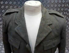 Genuine Vintage 1965 British Royal Marines Lovat Serge Uniform Jacket No Buttons