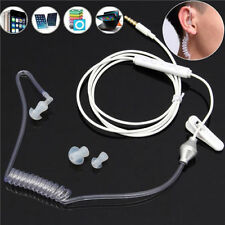 New 3.5mm Bodyguard Headset Security Headphone Anti-radiation Earphone with Mic