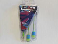 Koss RUK20b In-Ear Headphones - Blue/Green  £7.99