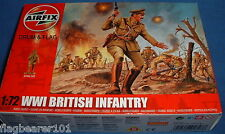 AIRFIX 01727. WW1 BRITISH INFANTRY. 1/72 SCALE FIGURES. EARLY WAR CAP