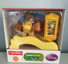 Fisher Price Little People Klip Klop Belle Disney NEW £6.99 each or 2 For £12