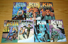 Kin #1-6 VF/NM complete series + art adams variant - gary frank caveman set lot